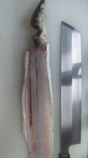 淡路島の鱧のスモーク
